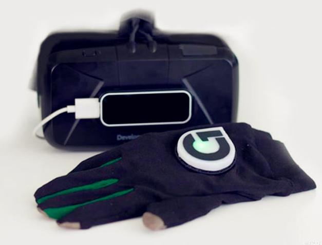 【虚拟现实】触摸虚拟世界的手套 Gloveone加以乱真