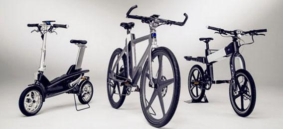 福特智能电动概念单车MoDe:Flex