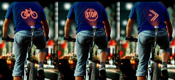 CYCLEE夜间行车安全装置投射警示 颠覆你的自行车骑行体验