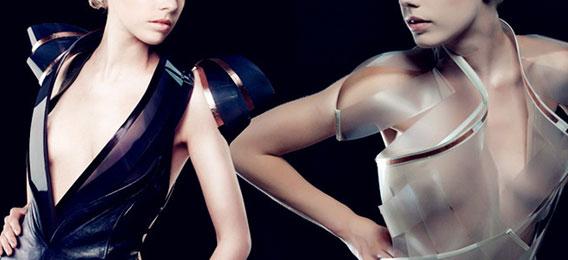 透视装Intimacy 2.0 心跳加快就会变透明的衣服