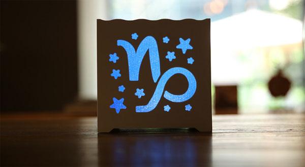 十二星座LED灯 来自星星的创意礼物