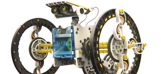 DIY拼装科普实验太阳能机器人 益智DIY亲子玩具礼物