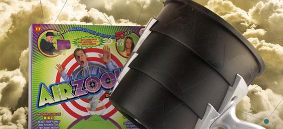 美国正品AIRZOOKA空气炮 创意整蛊玩具