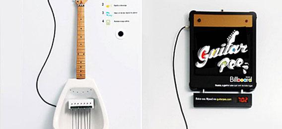 电吉他小便池 嘘嘘也可以如此美妙