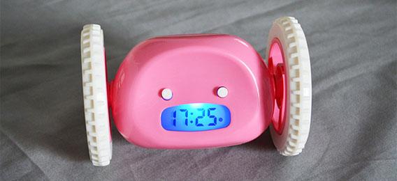 会跑的闹钟 赖床克星世界创意闹钟之一