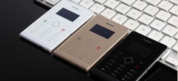 soyes超薄触控卡片手机