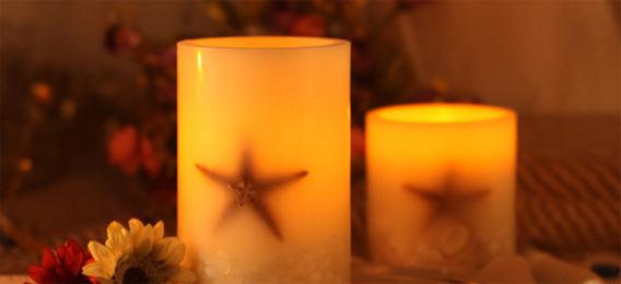 LuDela智能蜡烛 不用打火机也能点燃的真正蜡烛