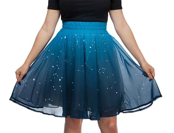 超级拉风的宇宙LED裙子 夜晚闪闪亮晶晶