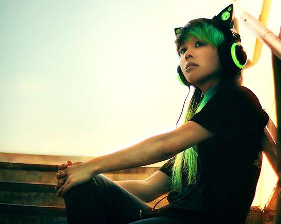 美国Brookstone猫耳智能耳机 不止是耳机