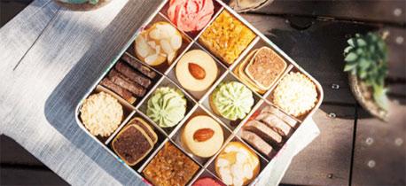 年末圣诞新年 送你一盒美味高颜值的曲奇礼盒