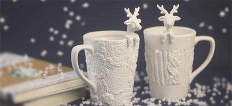 浓浓的北欧风 圣诞应景的麋鹿控礼物