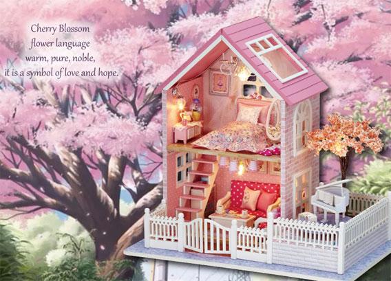 送给4月过生日的她一朵最美的樱花吧 樱花生日礼物 创意礼物 第7张