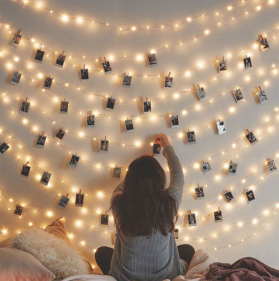 创意照片墙装饰 让时光定格你的美