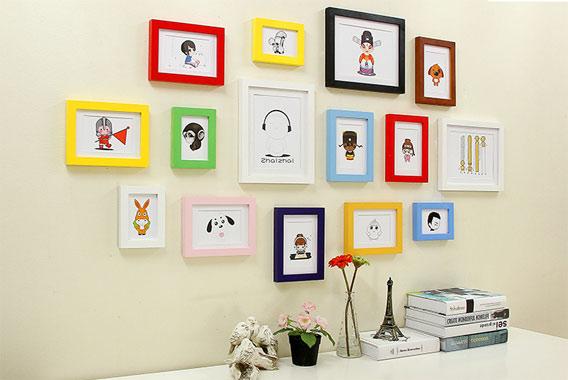 创意照片墙装饰 让时光定格你的美 创意礼物 第4张