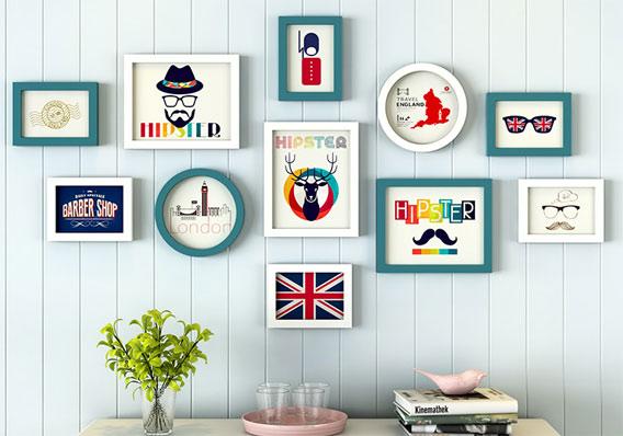 创意照片墙装饰 让时光定格你的美 创意礼物 第5张