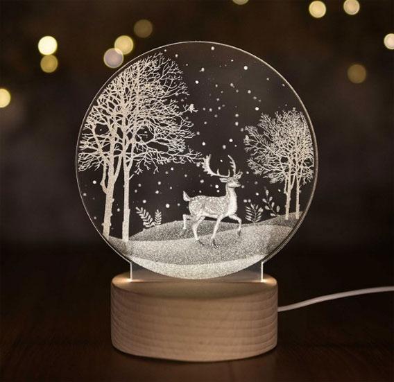 """你也可以拥有一只会发光的""""小鹿"""" 高颜值创意礼物 创意礼物 第4张"""
