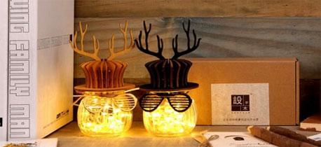 """你也可以拥有一只会发光的""""小鹿"""" 高颜值创意礼物"""