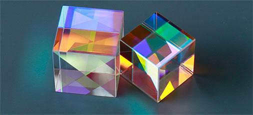 ins抖音网红礼物宇宙魔方水晶立方 一份来自光的创意礼物