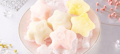 元祖雪月饼星空冰皮月饼 水果冰淇淋网红月饼系列