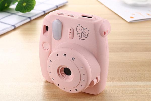 这不是拍立得 创意可爱相机移动充电宝