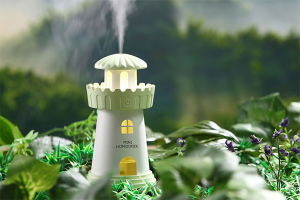 迷你灯塔空气加湿器推荐 高颜值秋冬补水神器