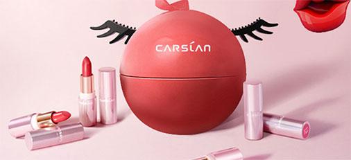 双十一预售 | 卡姿兰·轻雾感唇膏组合小魔球 6大网红颜色口红