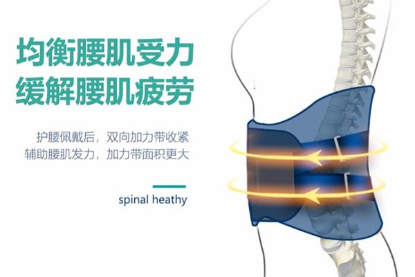 医用级仿生软骨护腰带  自发热理疗腰间盘突出腰肌劳损