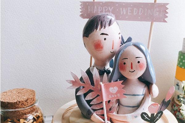 吾空空趣味创意粘土diy材料包  送给Ta的生日礼物