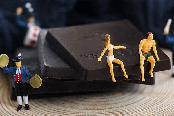 鲸语环球旅行情话书黑巧克力 与这个世界肌肤相亲