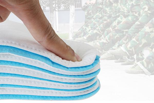 一次性免洗卫生巾鞋垫 开学季军训必备神器超强吸汗